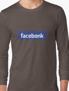 Facebonk Long Sleeve T-Shirt