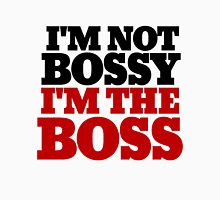 I'm not bossy I'm the BOSS Women's Fitted Scoop T-Shirt