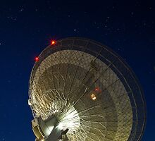 The Dish - Parkes Radio Telescope - NSW by Frank Moroni