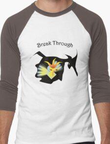 Break through Men's Baseball ¾ T-Shirt