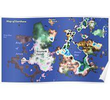 Map of Earthsea Poster