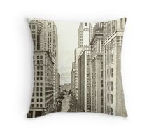 Downtown Oklahoma City Throw Pillow