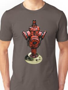 All fired up for tea? Fire hydrant tea tee!  Unisex T-Shirt