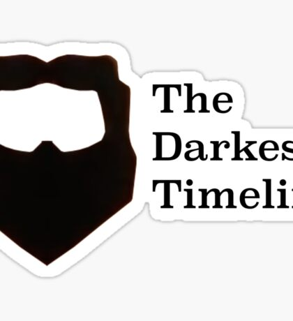 The Darkest Timeline Sticker