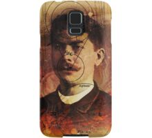 Man, mustache, space Samsung Galaxy Case/Skin