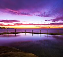 Sunrise McIver's Baths, Coogee (Large) by BronwynBell