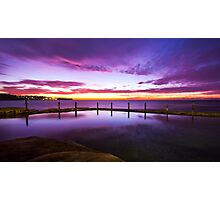 Sunrise McIver's Baths, Coogee (Large) Photographic Print