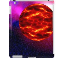 a view from space alien planet iPad Case/Skin