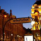 Metro de Paris by Mats Janné