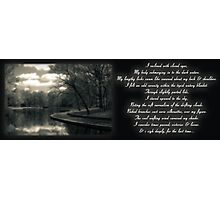 the sigh Photographic Print