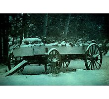 buckboard Photographic Print