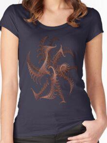 BRONZ SCULPTURE # 2 Women's Fitted Scoop T-Shirt