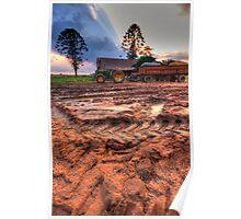 Muddy Tracks Poster
