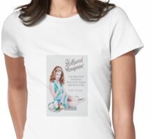 Hollywood Honeymoon™ Poster Womens Fitted T-Shirt