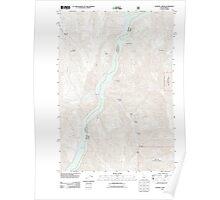 USGS Topo Map Idaho Sturgill Creek 20110817 TM Poster