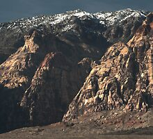 Mescalito Peak at Red Rock Canyon by richpilot35