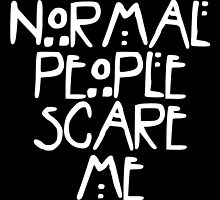 American Horror Story Normal People v2.0 by obsidiandream