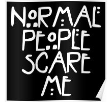 American Horror Story Normal People v2.0 Poster