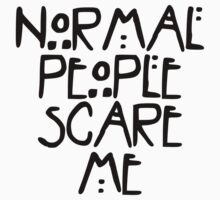 American Horror Story Normal People Kids Clothes