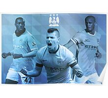 Manchester City Poster Design Poster