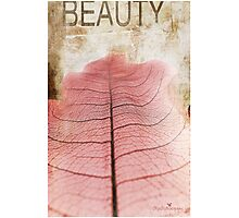 Beauty Photographic Print