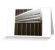 WOODEN STAIRWELL IN DENVER Greeting Card