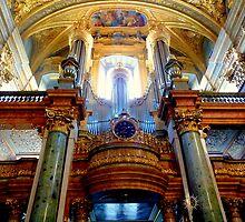 University Church, Vienna  by bubblehex08