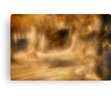 Painted scene Canvas Print
