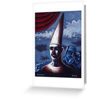 'The Dunce' Greeting Card
