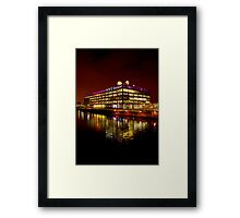 Floating BBC Scotland Framed Print