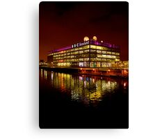 Floating BBC Scotland Canvas Print