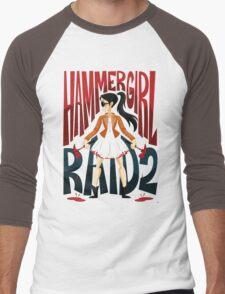 Hammer Girl Men's Baseball ¾ T-Shirt