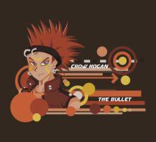 "Crow ""The Bullet"" Hogan  by AquaMoon"