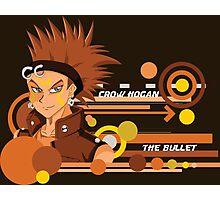 "Crow ""The Bullet"" Hogan  Photographic Print"