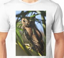 Eastern Screech Owl, As Is Unisex T-Shirt