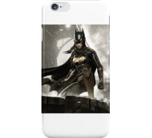 Batman Arkham Night: Batgirl iPhone Case/Skin