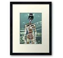 Lady Water Framed Print