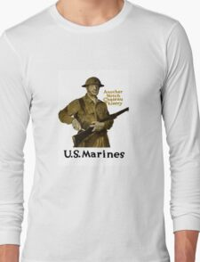 US Marines -- Another Notch Chateau Thierry  Long Sleeve T-Shirt