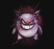 Gengar alternate design by Rachel Kelly