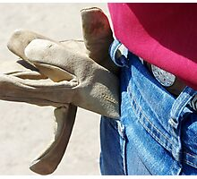 OH, TO BE A GLOVE! Photographic Print