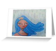 Elemental Goddess of Air Greeting Card