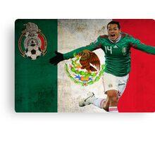 Chicharito Mexico Poster Design Canvas Print