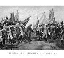 The Surrender Of Cornwallis At Yorktown by warishellstore