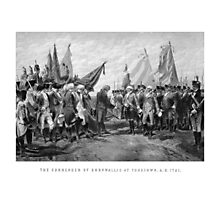 The Surrender Of Cornwallis At Yorktown Photographic Print