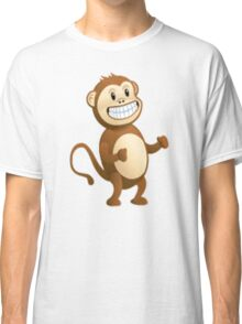 The Monkey Emoji From Skype Classic T-Shirt
