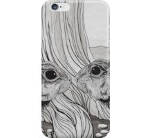 Kissing Cousins, bunnies iPhone Case/Skin