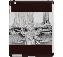 Kissing Cousins, bunnies iPad Case/Skin