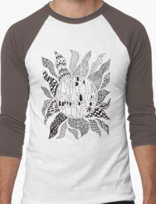 TFB Sunshine Zentangle Men's Baseball ¾ T-Shirt