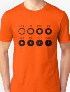 F-stops - Black Unisex T-Shirt