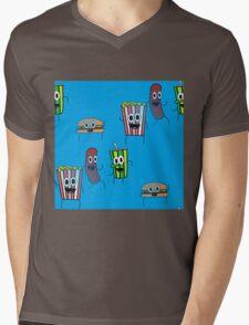 movie popcorn Mens V-Neck T-Shirt